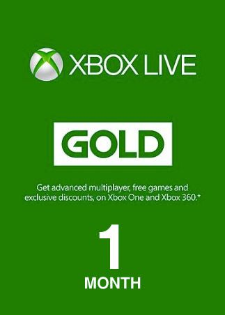 Get 1 Xbox Live Gold Membership Digital Code - Best Price || ShopOn.pk
